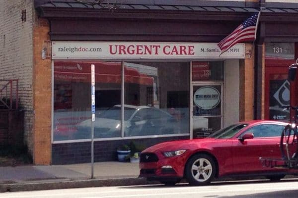 Downtown Raleigh Urgent Care